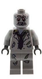 The Walking Dead Zombie Alien Monster Figure A - Custom Designed Minifigure